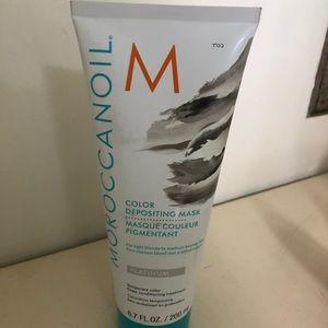 Moroccan oil silver temporary hair dye